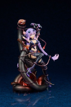 Broccoli Hyperdimension Neptunia Purple Heart Statue - Photo 10