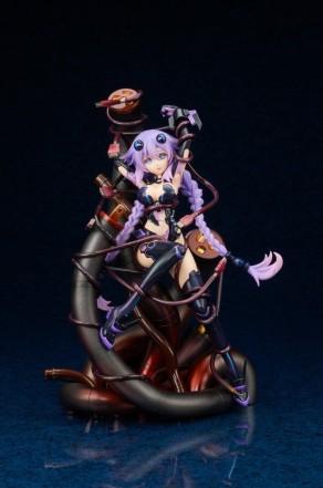 Broccoli Hyperdimension Neptunia Purple Heart Statue - Photo 11