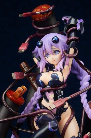 Broccoli Hyperdimension Neptunia Purple Heart Statue - Photo 12