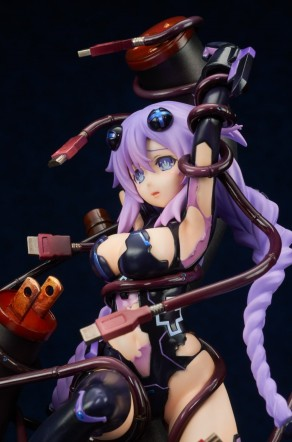 Broccoli Hyperdimension Neptunia Purple Heart Statue - Photo 14