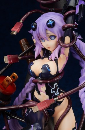 Broccoli Hyperdimension Neptunia Purple Heart Statue - Photo 16