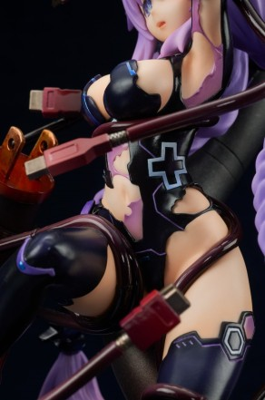 Broccoli Hyperdimension Neptunia Purple Heart Statue - Photo 17