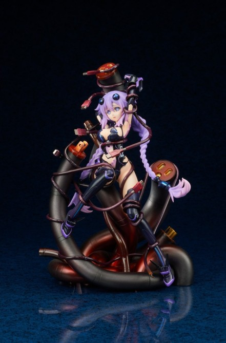 Broccoli Hyperdimension Neptunia Purple Heart Statue - Photo 2