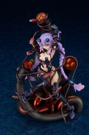 Broccoli Hyperdimension Neptunia Purple Heart Statue - Photo 23