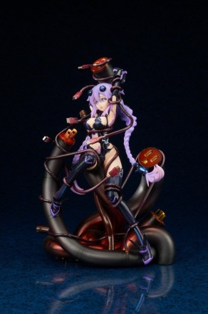 Broccoli Hyperdimension Neptunia Purple Heart Statue - Photo 3