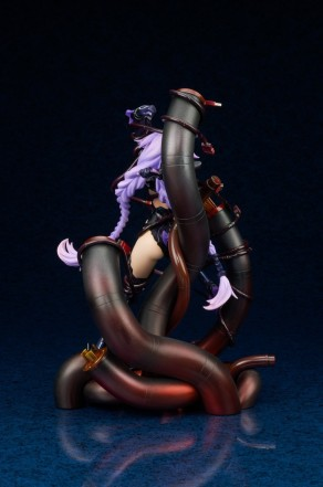 Broccoli Hyperdimension Neptunia Purple Heart Statue - Photo 7