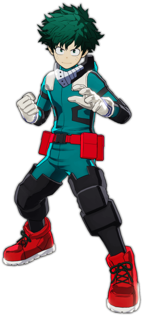 My Hero Academia - One's Justice - Izuku Midoriya Official Keyart