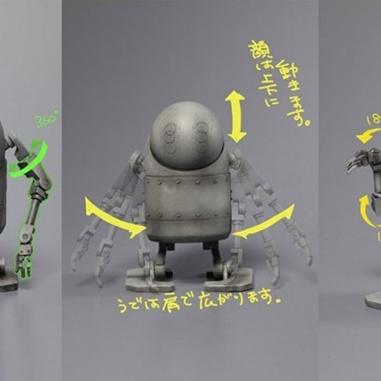 NieR Automata Bring Arts 2B And Machine Life Form Set - Photo 10