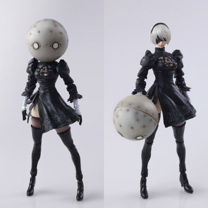 NieR Automata Bring Arts 2B And Machine Life Form Set - Photo 11