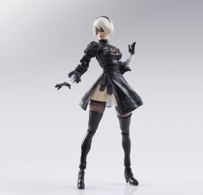 NieR Automata Bring Arts 2B And Machine Life Form Set - Photo 2