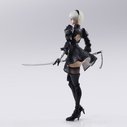 NieR Automata Bring Arts 2B And Machine Life Form Set - Photo 3