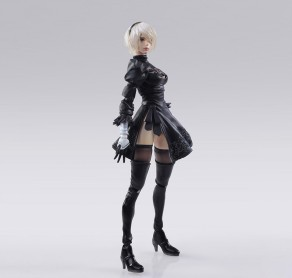 NieR Automata Bring Arts 2B And Machine Life Form Set - Photo 4