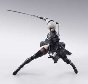 NieR Automata Bring Arts 2B And Machine Life Form Set - Photo 5