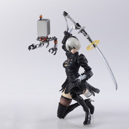 NieR Automata Bring Arts 2B And Machine Life Form Set - Photo 6