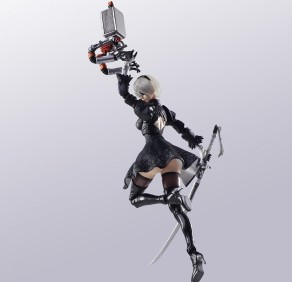 NieR Automata Bring Arts 2B And Machine Life Form Set - Photo 7