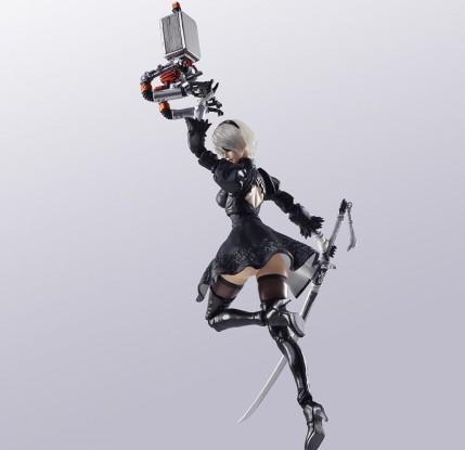 NieR Automata Bring Arts 2B And Machine Life Form Set - Photo 7