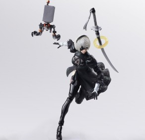 NieR Automata Bring Arts 2B And Machine Life Form Set - Photo 8