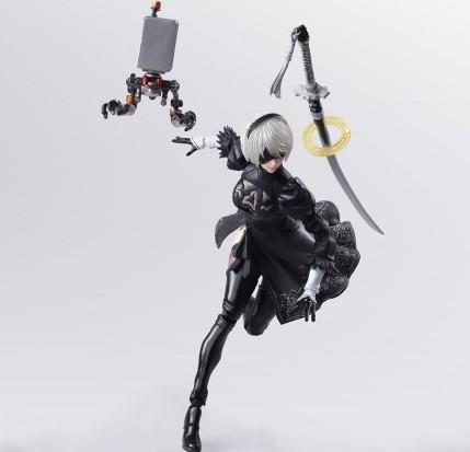 NieR Automata Bring Arts 2B And Machine Life Form Set - Photo 8