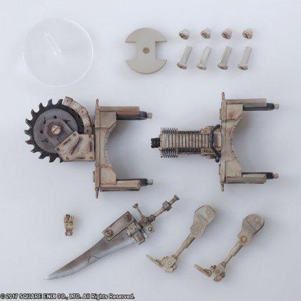 NieR Automata Bring Arts Machine Life Form Set - Photo 10