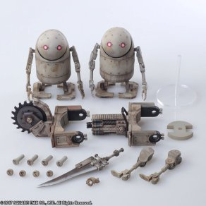 NieR Automata Bring Arts Machine Life Form Set - Photo 11