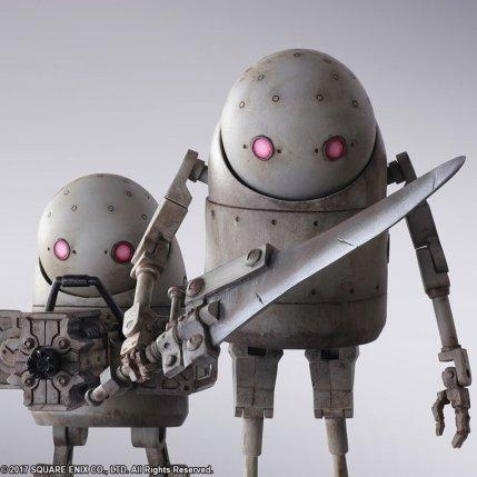 NieR Automata Bring Arts Machine Life Form Set - Photo 4