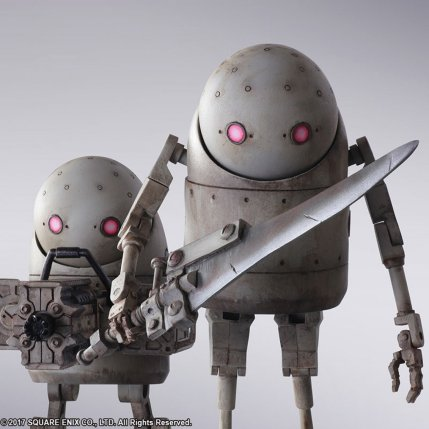 NieR Automata Bring Arts Machine Life Form Set - Photo 4