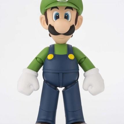 Tamashii S.H. Figuarts Luigi Figure - Photo 1
