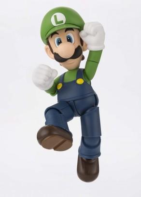 Tamashii S.H. Figuarts Luigi Figure - Photo 4