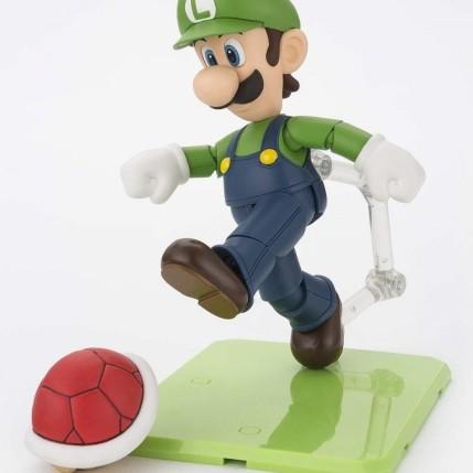 Tamashii S.H. Figuarts Luigi Figure - Photo 5