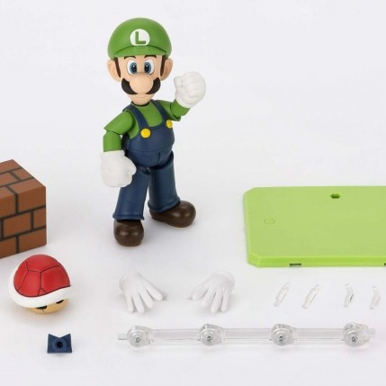 Tamashii S.H. Figuarts Luigi Figure - Photo 7