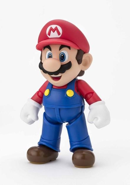 Tamashii S.H. Figuarts Mario Figure - Photo 1