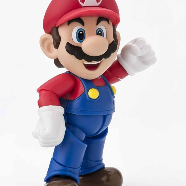 Tamashii S.H. Figuarts Mario Figure - Photo 2