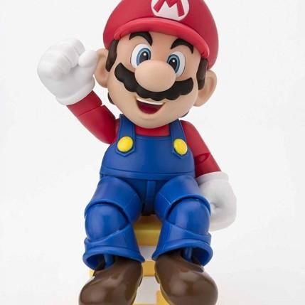 Tamashii S.H. Figuarts Mario Figure - Photo 5