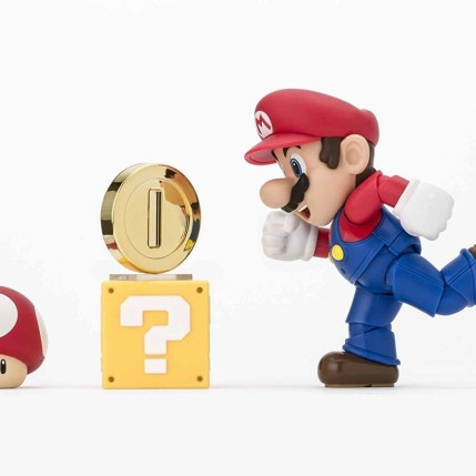 Tamashii S.H. Figuarts Mario Figure - Photo 6