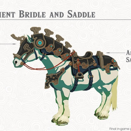 The Legend of Zelda BOTW- The Champions' Ballad - Ancient Horse Gear