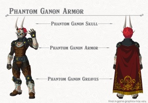 The Legend of Zelda BOTW- The Champions' Ballad - Phantom Ganon Armor