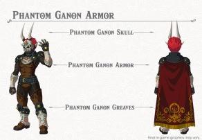 The Legend of Zelda BOTW- The Champions' Ballad - Phantom Ganon Armor