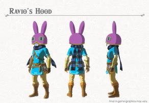 The Legend of Zelda BOTW- The Champions' Ballad - Ravio's Hood