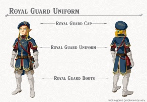 The Legend of Zelda BOTW- The Champions' Ballad - Royal Guard Uniform