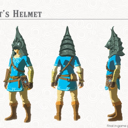 The Legend of Zelda BOTW- The Champions' Ballad - Zant's Helmet